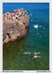 Taking the Leap at Blackrocks (gardnerphotos.com) Tags: presqueisle mi michigan blackrocks blackrocksbeach cliffdiving lakesuperior greatlakes gardnerphotoscom marquettemichigan upperpeninsula up