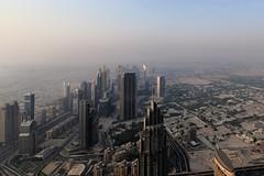 Dubai (United Arab Emirates) from the top of Burj Khalifa, August 2016, D810 2246 (tango-) Tags: dubai emirates sky skyscraper tallest