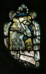 angel with peacock eye feathers and a book (Simon_K) Tags: wiggenhall mary magdalene magdalen norfolk eastanglia