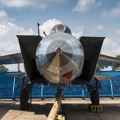 Mikoyan-Gurevich MiG-25R - 2 (NickJ 1972) Tags: indian air force museum palam af delhi india mikoyan gurevich mig25 foxbat kp355