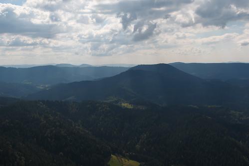Sur les hauteurs d'Oppenau