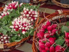 Radish (Jan Herremans) Tags: france janherremans june2016 lyon stantoinemarket radish vegetable