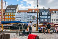 Music in Nyhavn (SMSidat) Tags: copenhagen nyhavn dinner music musician street streetphotography travel holiday vacation denmark travelphotography travelling