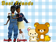 Besties (Real Dolls of Plastic Wood) Tags: dolls friends stacie kelly todd janet kids school barbie fashion royalty