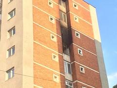 14203436_1182386941827450_1552405141_o (Express de Banat) Tags: incendiu resita centrul civic expressdebanat