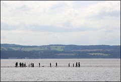 West Kirby Wirral  230816 (29) (over 4 million views thank you) Tags: westkirby wirral lizcallan lizcallanphotography sea seaside beach sand sandy boats water islands people ben bordercollie dog beaches reflections canoes rocks causeway yachts outside landscape seascape