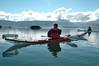 Haukur and Svenni watching Grey Seal. Hrúteyjar. (Steini Jóns) Tags: greyseal hrúteyjar breiðafjörður kayak