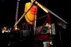 DSC02275 (Moodycamera Photography) Tags: canadiannationalexhibition cne toronto ontario nightphotography rides slowshutterspeed long exposurerlights ferriswheel swing turning twisting spining amusment horse hdr