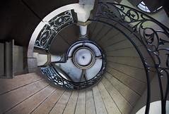 Detail (epemsl) Tags: treppe wendeltreppe stlukas mnchen