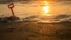 End of play (Sonytrant1) Tags: spade sonya57 sigma18250 sunset sea sand sun cornwall mawgan porth