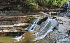 Water Falls - Treman_0079 (sugarzebra) Tags: treman roberthtreman statepark ny newyork ithaca waterfalls longexposure fingerlakes canon
