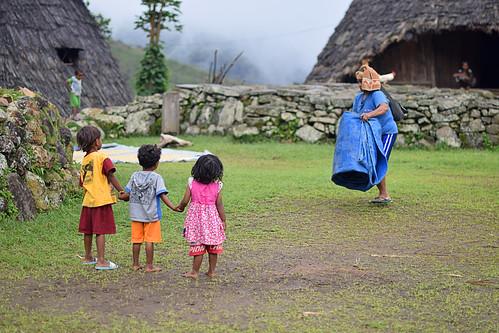 Kids in Wae Rebo