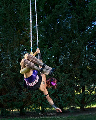 With the Greatest of Ease (landbergmary) Tags: marylandberg conceptualphotography conceptualportrait portrait brave courageous puttingitoutthere uninhibited fearless trapeze