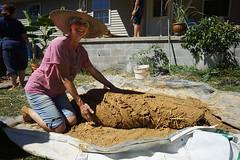 cob pride (The Year of Mud) Tags: theyearofmud naturalbuilding cob clayplaster lightclaystraw berea kentucky southslopefarm