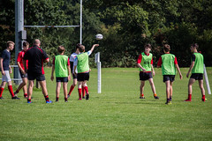 Flick Of the Wrist (MattBevingtonPhotography) Tags: flick rugby training photoshoot canon700d hangtime hiviz goodday onthejob working