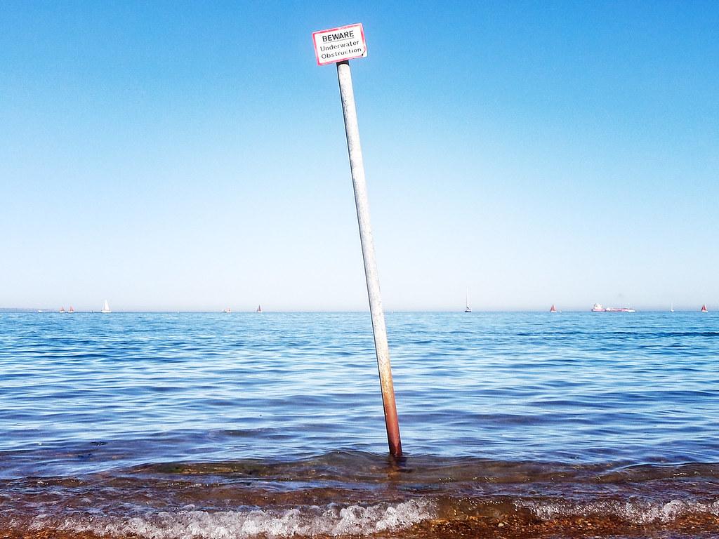 Beware, Underwater Obstruction