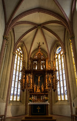Altar in SS Cosmas & Damian (Lawrence OP) Tags: goslar germany lowersaxony unesco worldheritage medieval apse altar gothic