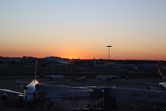 Sydney Sunrise (NTG's pictures) Tags: sydneykingsford smith international airport