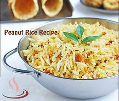 Peanut Rice Recipe | Quick lunch box recipe preparation for working womans @ waytorecipes.com (waytorecipes) Tags: recipes veg snacks breakfast riceitems