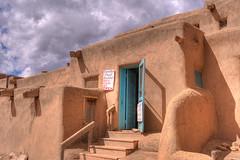 Crucitas - Taos Pueblo (so1150) Tags: taos newmexico pueblo nativeamerican unescosite crucita nikon hdr handheld vr photomatix d3 1635mm f4