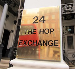 The Hop Exchange (Dun.can) Tags: hopexchange se1 london southwarkstreet southwark 24 hops brewing beer redbus corporate reflection
