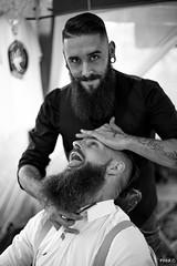 The Barber (Frd.C) Tags: barbu beard barber look tattoo piercing rasoir
