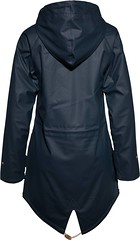 Derbe Tavel Cozy Friese (ShinyNylonFan) Tags: derbe raincoat hood waterproof