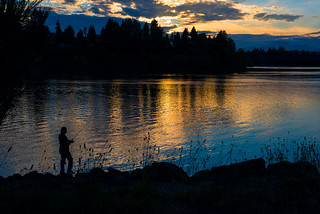 Fishing at Twilight (Explored)
