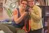 Tattooed ladies (Lucy MacLean) Tags: tattoo cancer quiltblock quilters irishchain memorialtattoo