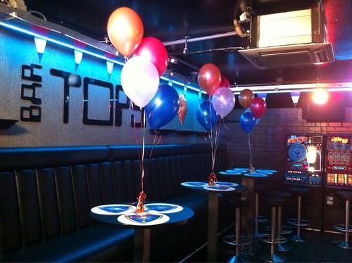 Tafeldecoratie 3ballonnen Bar Tops Spijkenisse
