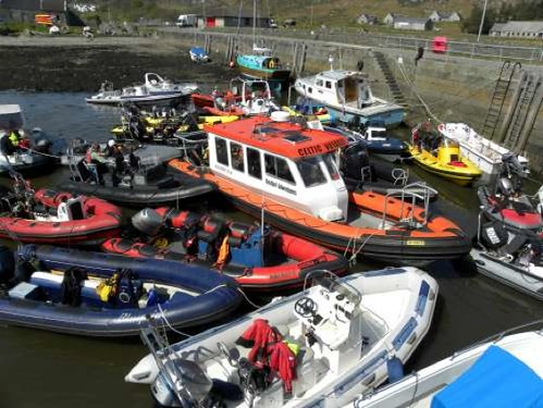Easdale RIB rendezvous 2011