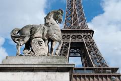 Eiffel Tower & Horse