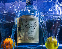 Salior Jerry (T.Blue) Tags: orange yellow 35mm lemon jerry ii 5d rum sailor splash speedlight mk strobe 14l