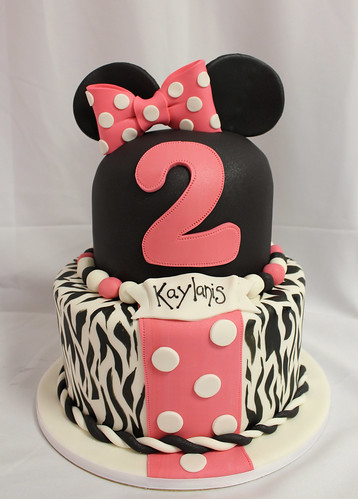 Minnie Mouse Zebra Custom