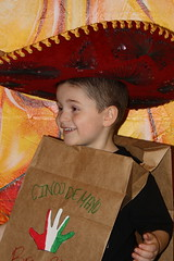 Parks wearing the Sombrero (Marlisa Osborne) Tags: fieldtrip preschool cincodemayo allaboutkids