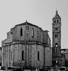 Cattedrale di Santa Maria Maggiore-Barletta-Puglia (arabo67) Tags: santa bw maria campanile e maggiore bianco nero puglia cattedrale barletta