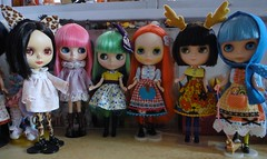 Blythes on my bench