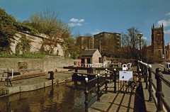 Tule Lane Locks (Saturated Imagery) Tags: film 35mm landscape iso200 praktica filmslr vivitar28mmf28 epsonv500 prakticatl5b rolleidigibasecn200 unmaskfilm developednocultureicons