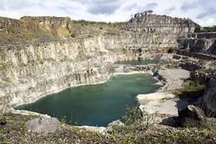 Blue Lagoon (John Underwood) Tags: tarmac landscape derbyshire peakdistrict lagoon mining limestone quarry bluelagoon wirksworth leadmining limestonequarry middlepeakquarry