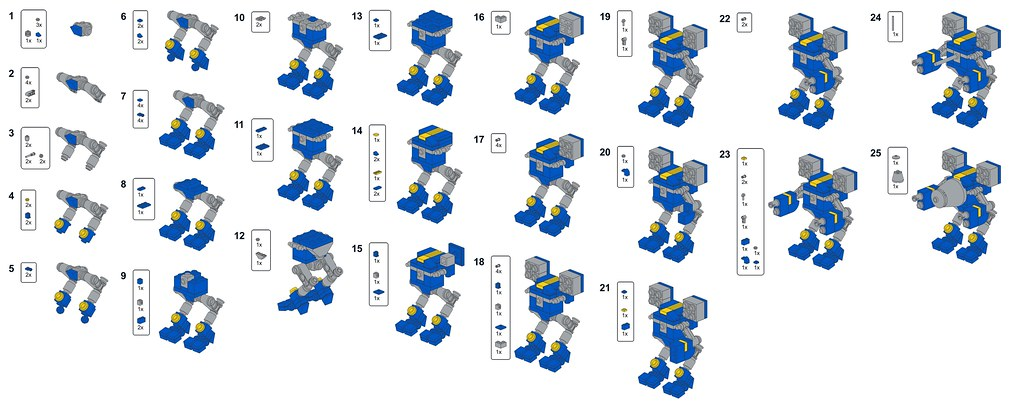 Как из лего сделать трансформера фото 346
