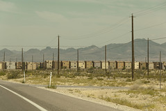 Little boxes, Las Vegas (philippe*) Tags: houses usa nikon desert lasvegas d2x gated