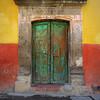 (msdonnalee) Tags: door green puerta doorway porte entry olddoor 문 photosfromsanmigueldeallende fotosdesanmigueldeallende