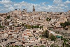 Toledo cityscape (Tony DeFilippo) Tags: travel clouds spain cityscape sharp espana toledo nikond700