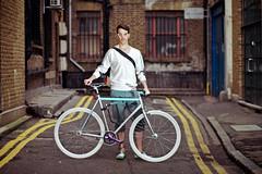 Me & My 2010's Fixie (Alvaro Arregui) Tags: shoreditch canon5d fixie hackney fixgear londoner fixedgearbike londoneast canon80mmf18 fixielondon eastlondonbike