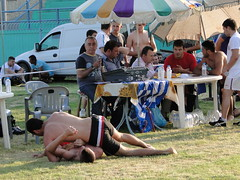 Traditional wrestling (d.mavro) Tags: body wrestling traditional greece wrestler biceps serres yunanistan grecoroman pehlivan athlet serez skutari