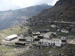 Indian army post near Nathu La