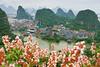 Pagoda and flower (Tonnaja Anan Charoenkal) Tags: china guilin diecai