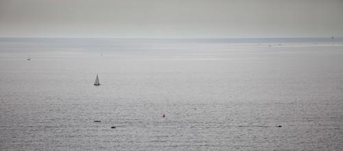 Dive boats above HMS Scylla