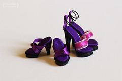 Shoes for Fashion Royalty (Trotilla) Tags: shoes handmade violet 2012 201206 forrashionroyalty