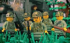 Charlie Company (CitizenSandwich) Tags: lego military vietnam minifigures